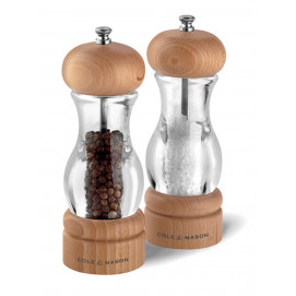 Coffret moulins sel et poivre 105 - 165 mm