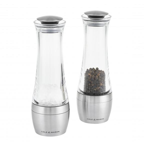 Coffret moulins sel et poivre Amesbury 190 mm